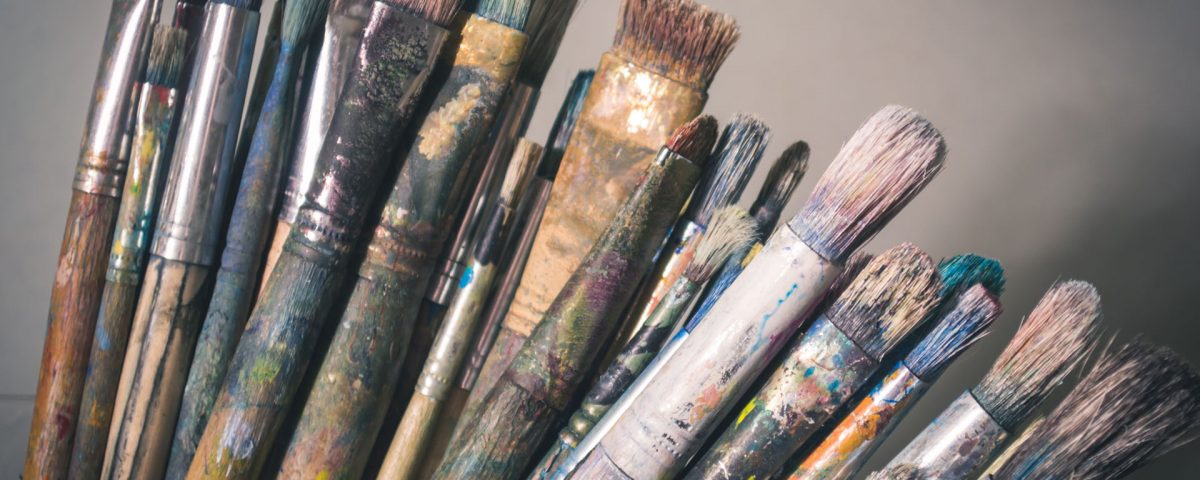 Artistic Paint Brushes Wallpaper Hd Wallpapers Stores