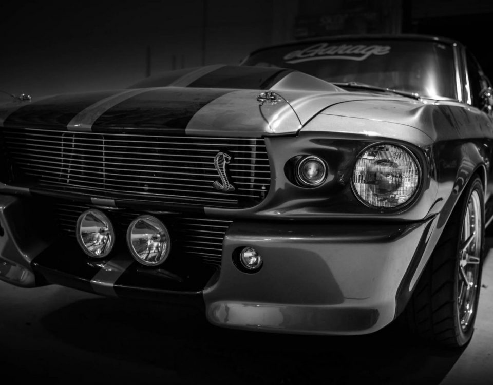 Shelby GT500 Car Close Up
