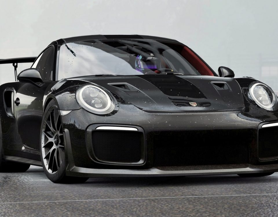 Black Porsche 911 Car Model GT3 Touring