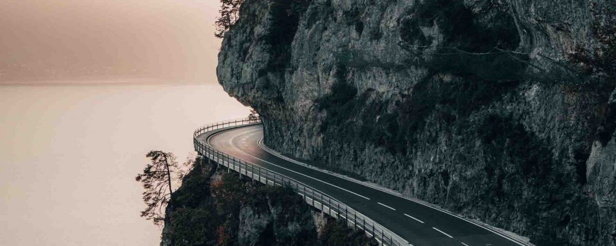 Road On Cliff