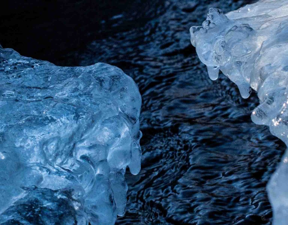 Glacier Water and Ice