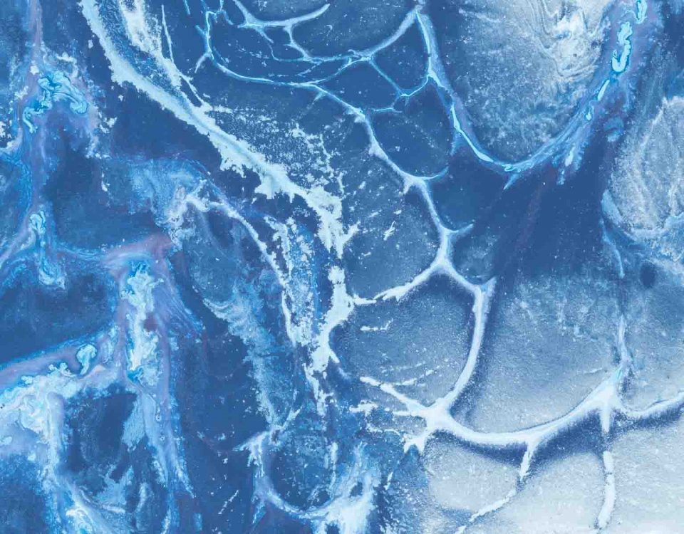 Ice Patterns And Textures