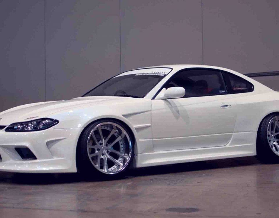 White Car Nissan Silvia S15