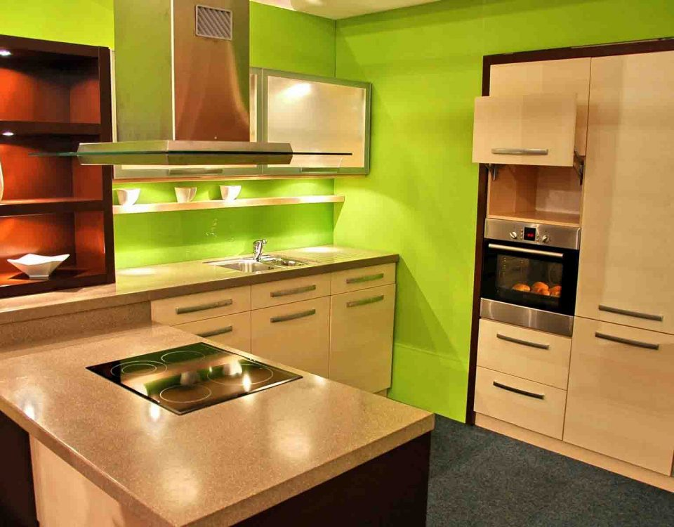 Kitchen Green Interiors
