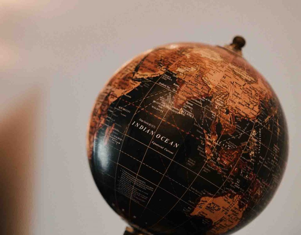 A Sphere Shape Globe On Table