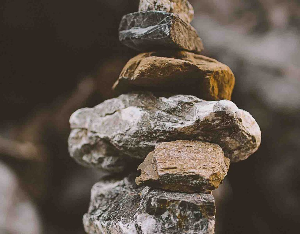 Rock Balancing Photography