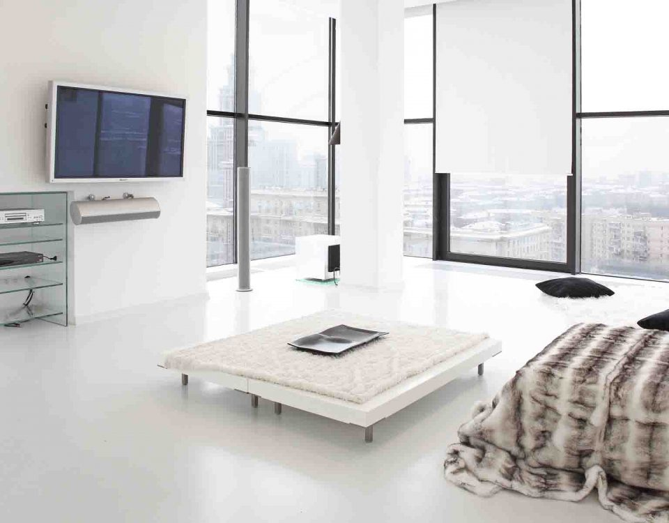 Beautiful White Room Interior