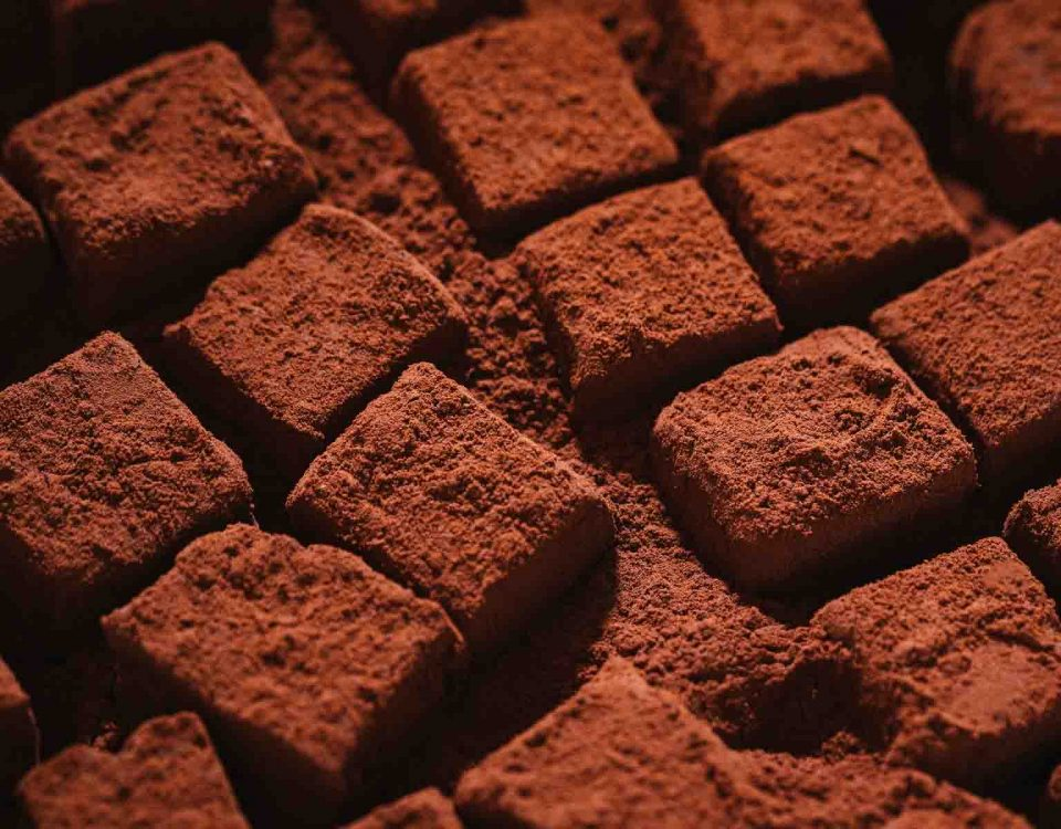 Chocolate Cubes Dessert