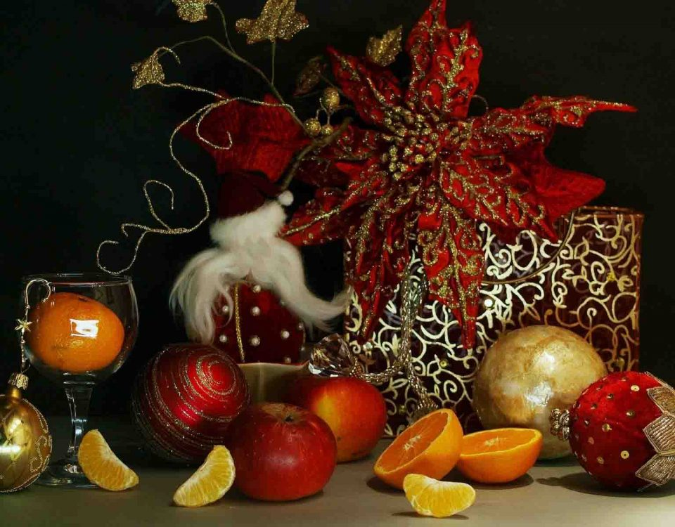Gifts and Toys with Fruits