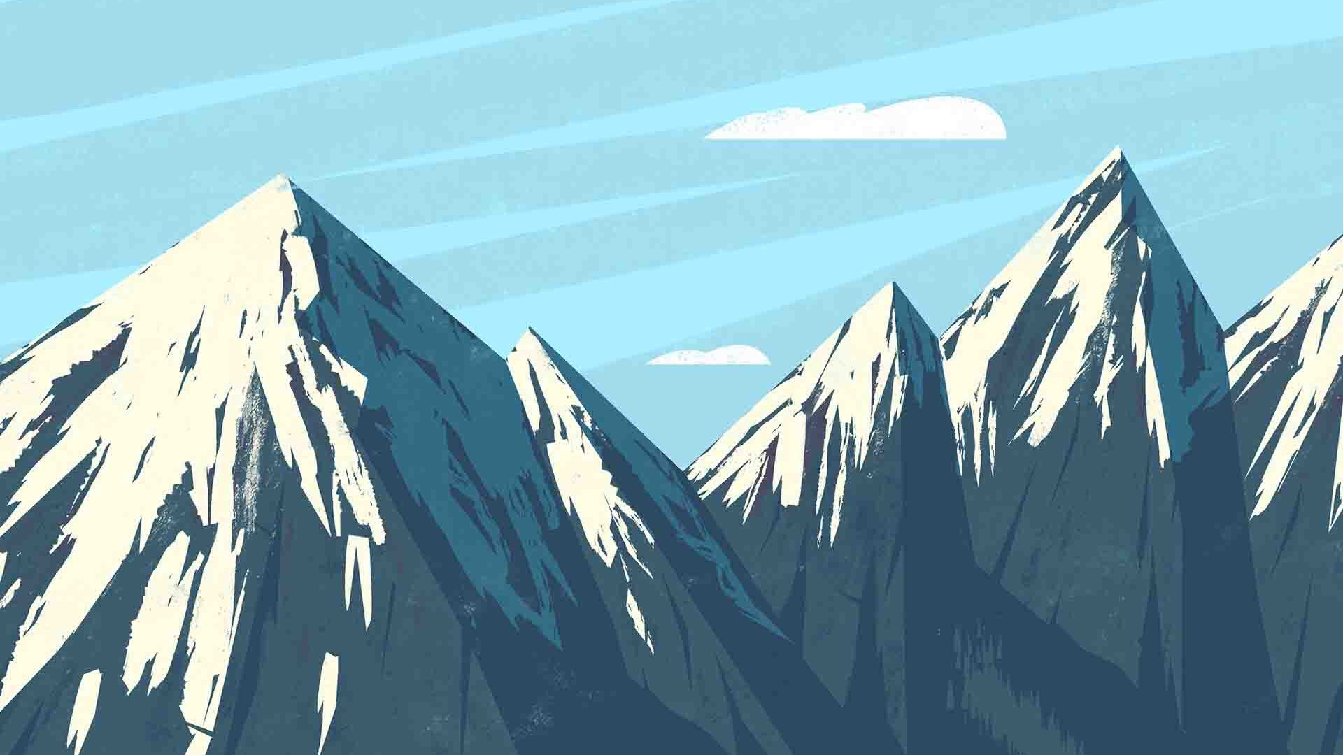 Mountains Vector Cool Art Hd Wallpapers Stores Hd Wallpapers Stores