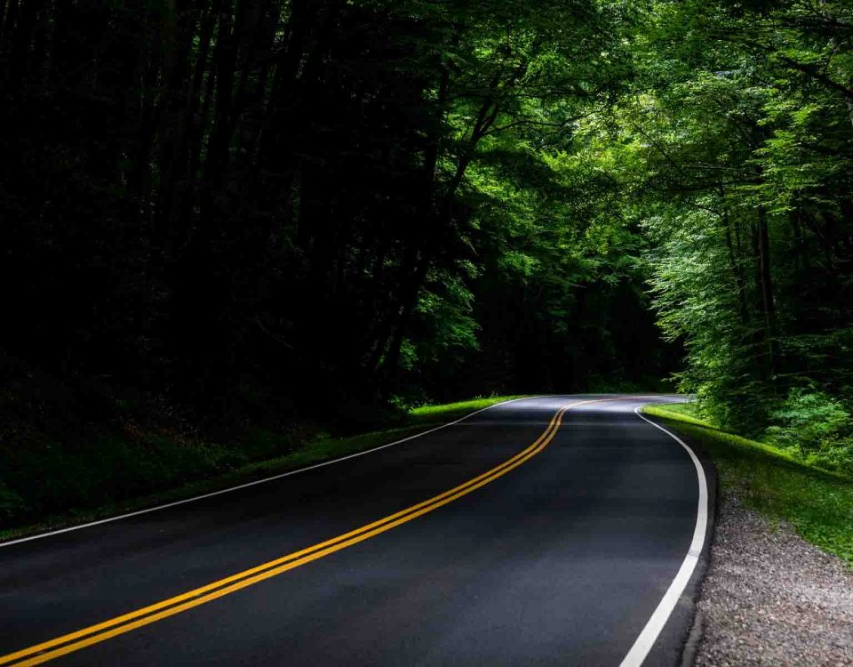 Road Turn Cool Photography HD Wallpapers Stores